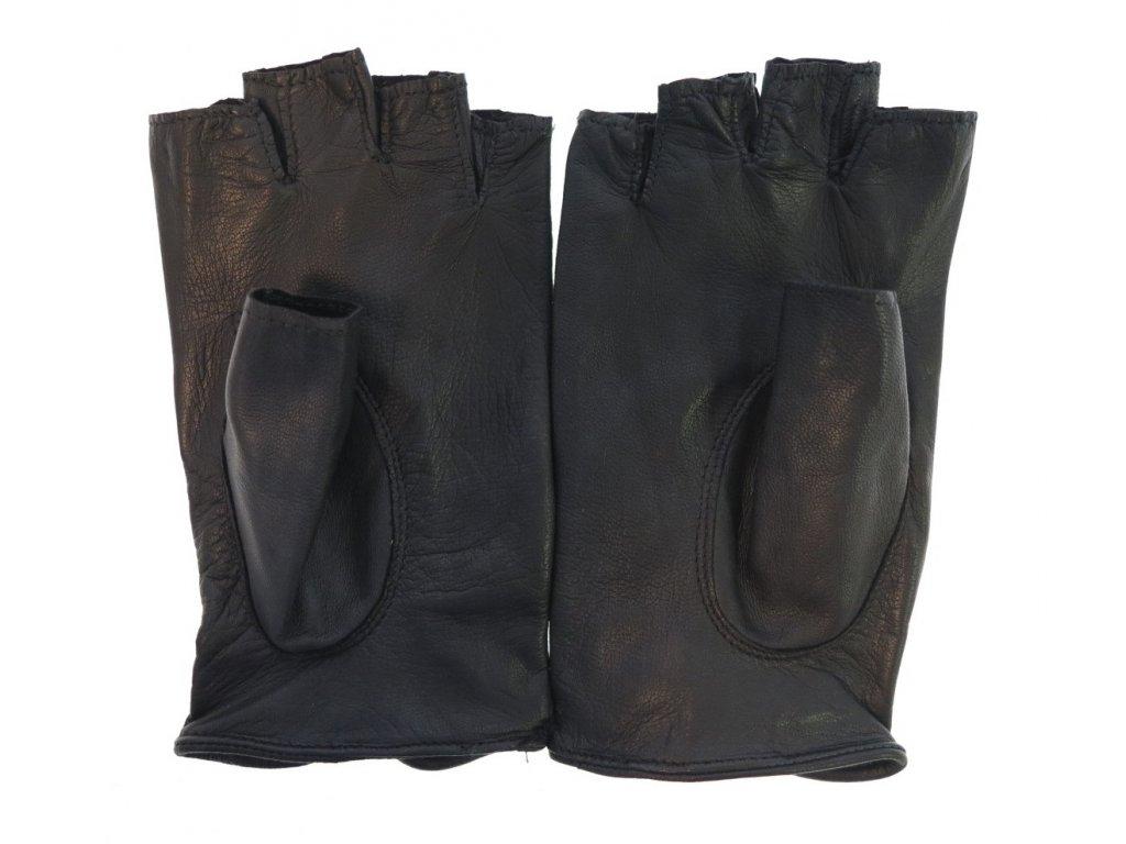 ... Dámské kožené řidičské rukavice 3034BP bezprstové černé perforované ... abab0600fb