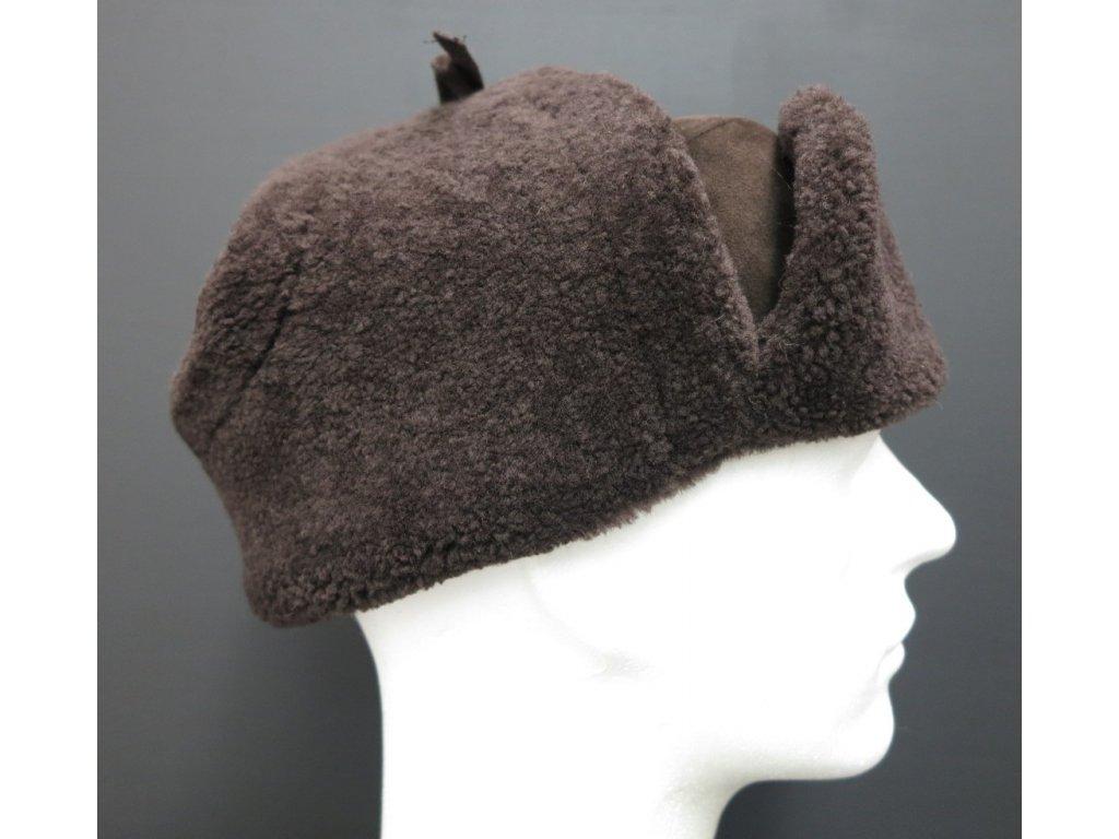 pánská kožešinová ušanka z ovčiny se15