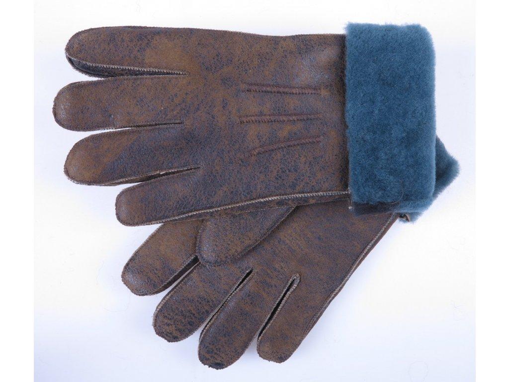 Dámské kožešinové rukavice napalan