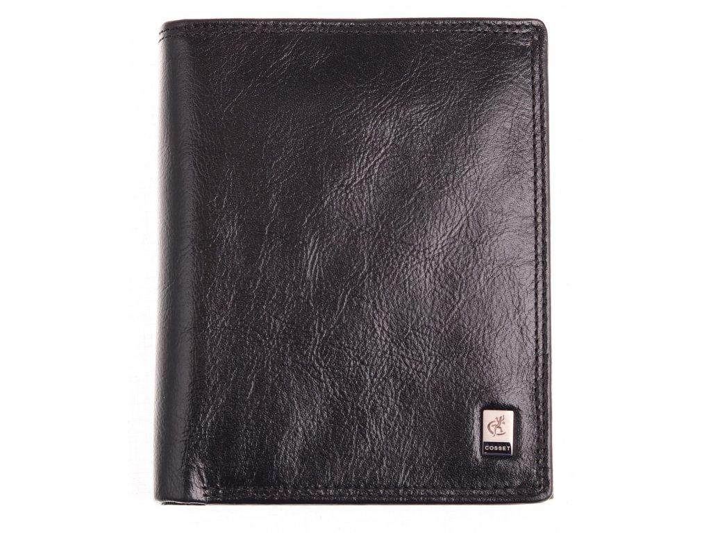 Pánská kožená peněženka Cosset 4402 Zion černá