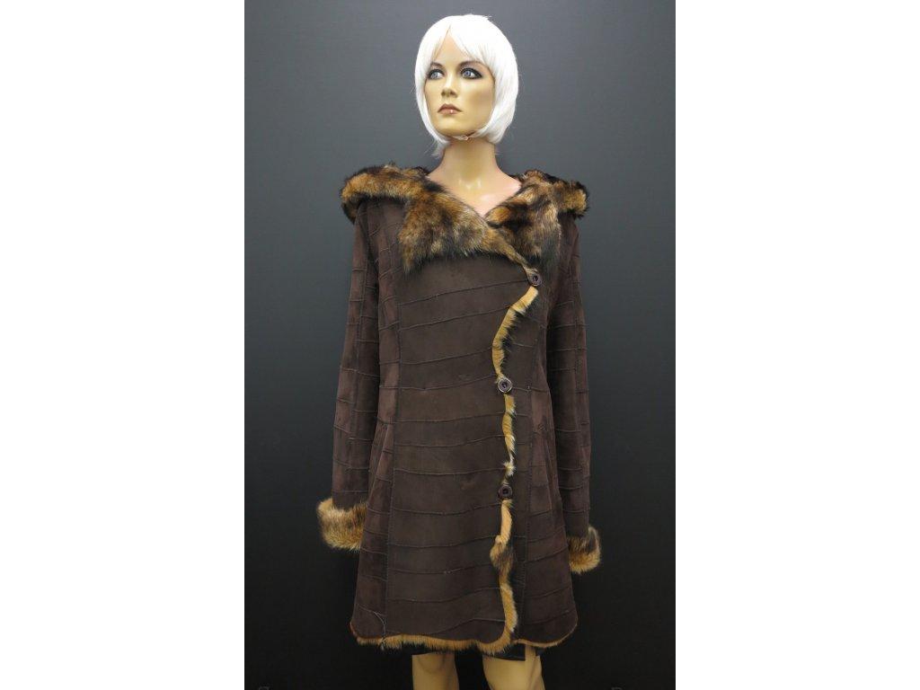 Kožešinový kabát dubeňák 6272