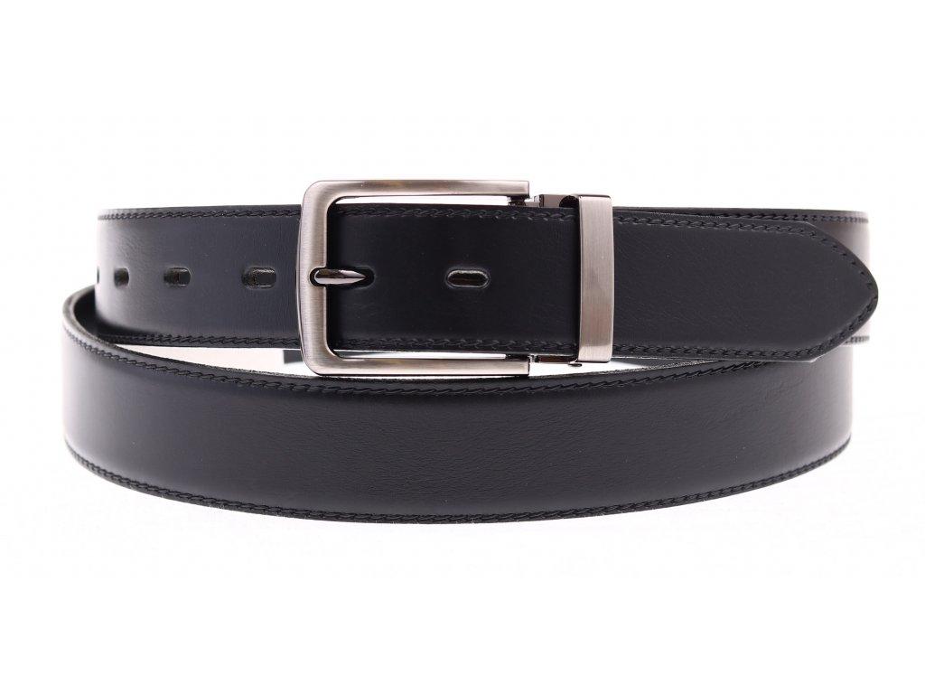 Pánský společenský kožený opasek Penny Belts 35-020-2-60 černý