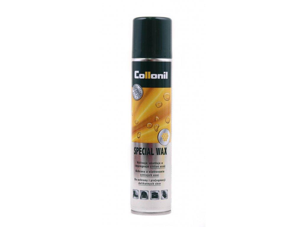 Collonil Special Wax 200 ml impregnační sprej  na maštěné, přírodní nebo vysoce leštěné kůže