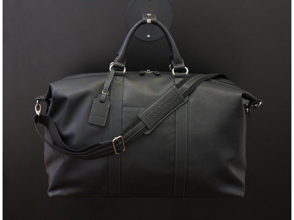Pánská cestovní kožená taška