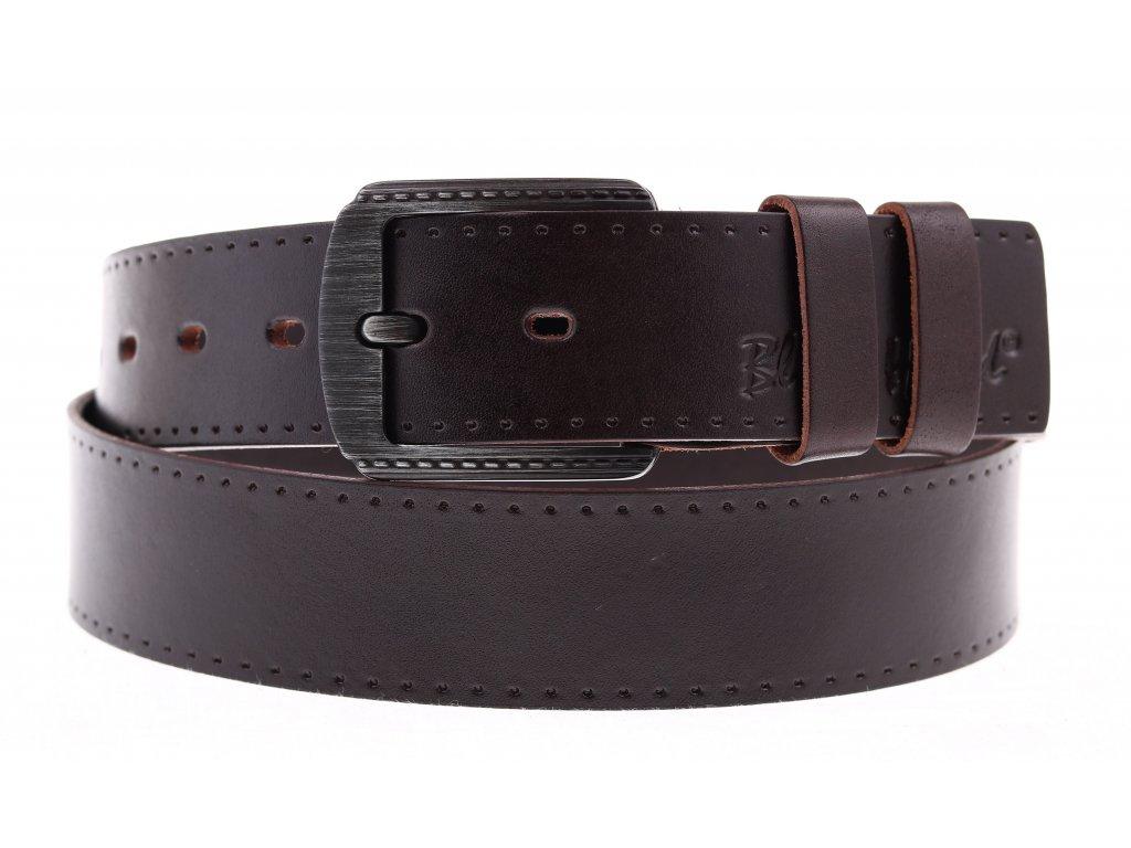 Dámský kožený pásek Black Hand 101-93 hnědý