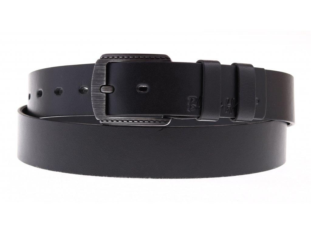 Dámský kožený opasek Black Hand 101-98 černý