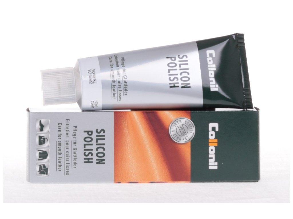 Collonil Silicon Polish 75 ml krém na hladkou kůži - tmavě hnědý