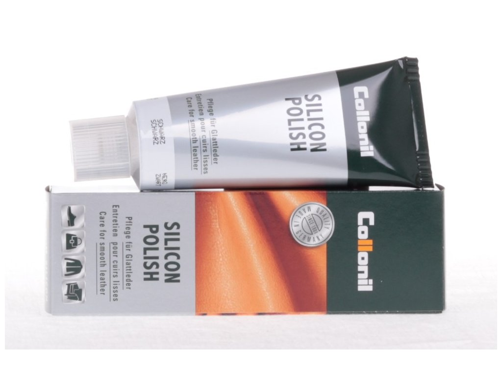 Collonil Silicon Polish 75 ml krém na hladkou kůži - světle hnědý