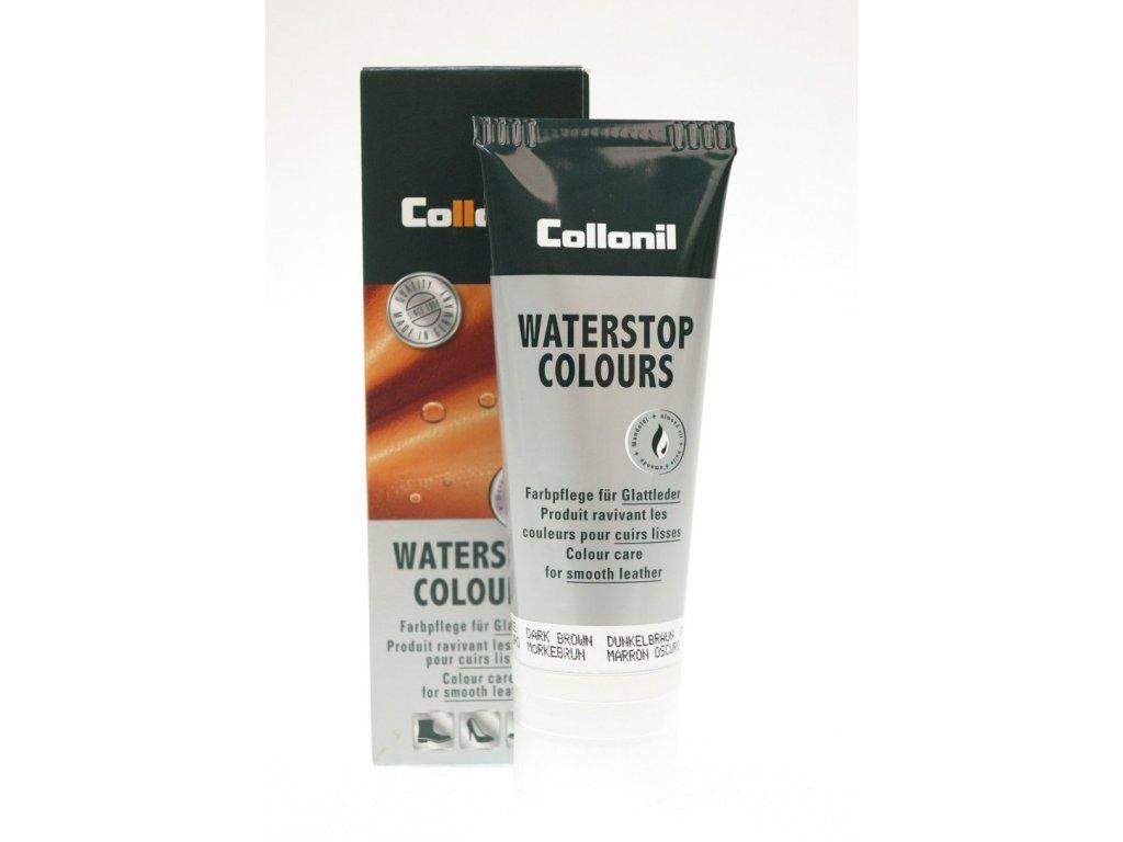 Collonil Waterstop 75 ml impregnační krém na boty - tmavě hnědý Camel