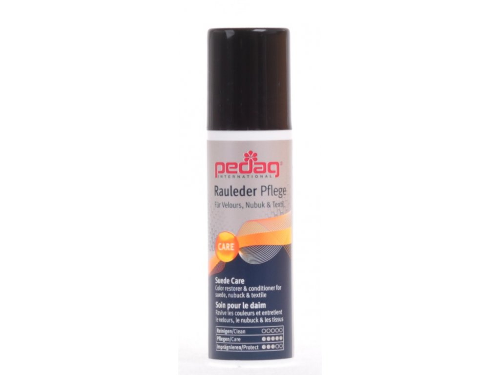 PEDAG RAULEDER PFLEGE 75 ML černý krém emulze na obnovu barev dobarvení kůže