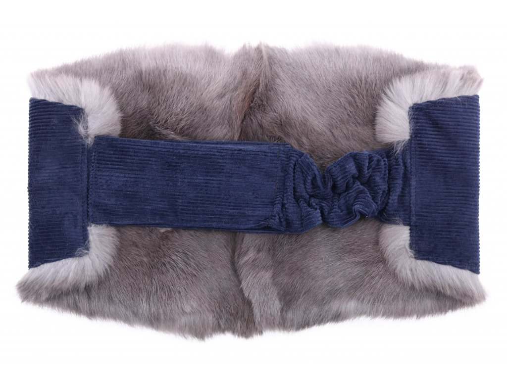 Ledvinový pás kožešinový LP44 velikost M králík