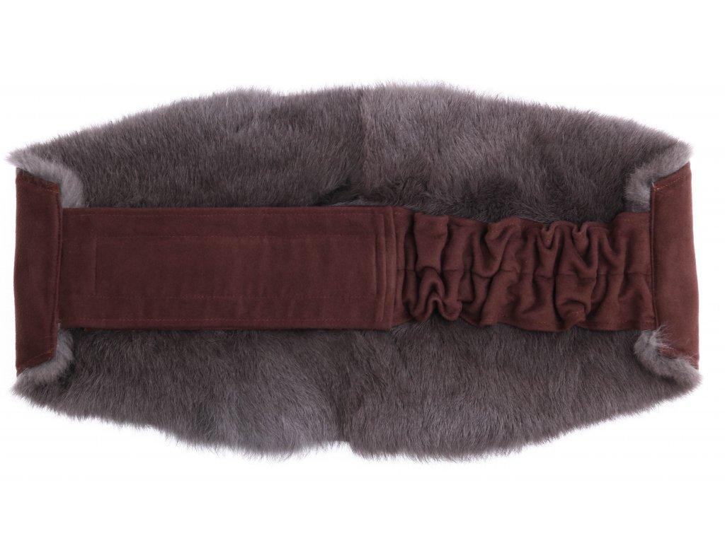 Ledvinový pás kožešinový LP115 velikost L králík