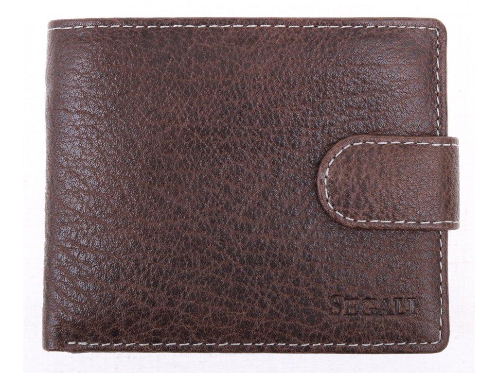 Pánská kožená peněženka Segali SG2016 Grey