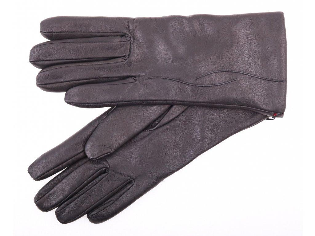 Dámské kožené rukavice 4162 černé - Špongr.cz 122548979a