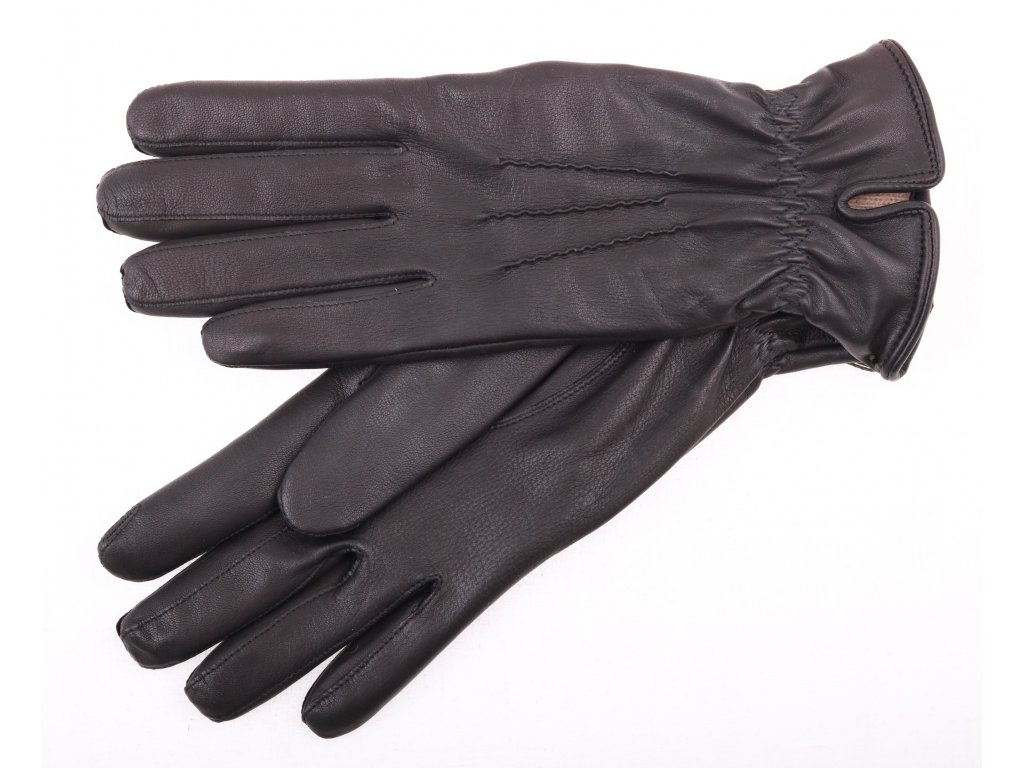 Dámské kožené rukavice 4327 černé