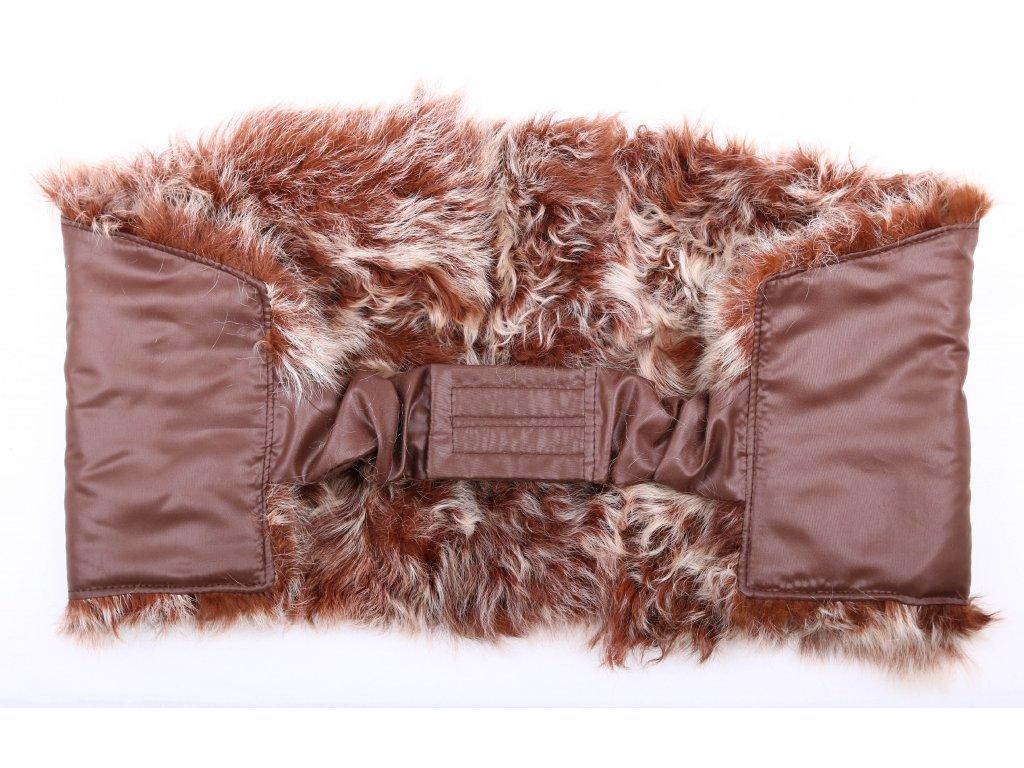 Ledvinový pás kožešinový LP126 velikost 100 - 120 cm ovčina