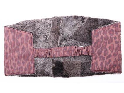 Ledvinový pás kožešinový LP130 velikost 100 - 120 cm ovčina