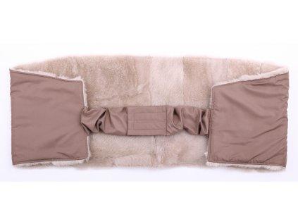 Ledvinový pás kožešinový z ovčiny LP 134 velikost  120 - 140 cm