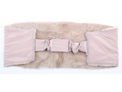 Ledvinový pás kožešinový z ovčiny LP 135 velikost  120 - 140 cm
