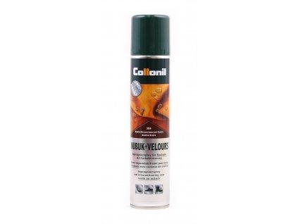 Collonil Nubuk+Velours 200 ml impregnační sprej TMAVĚ HNĚDÝ