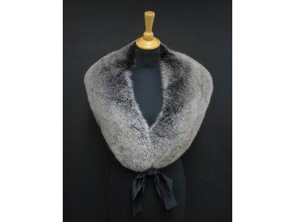 Kožešinová štola z polární lišky ST01 černá