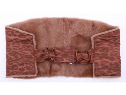 Ledvinový pás kožešinový LP144 velikost 100 - 120 cm ovčina