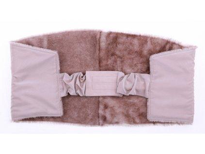 Ledvinový pás kožešinový LP145 velikost 100 - 120 cm ovčina