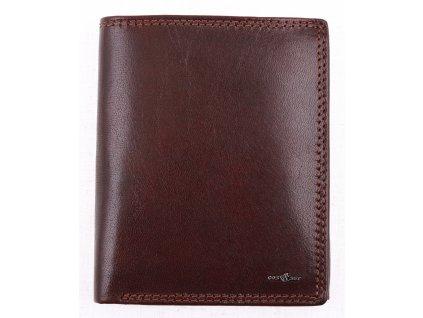 Pánská kožená peněženka Cosset 4402 Unno hnědá
