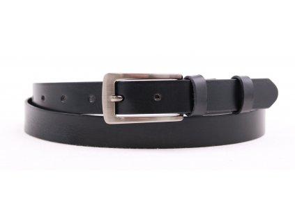 Dámský kožený opasek Penny Belts 2518 černý
