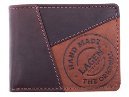 Pánská kožená peněženka Lagen 511451 hnědá