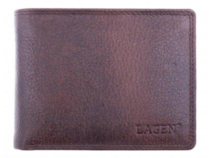 Pánská kožená peněženka Lagen 103 hnědá