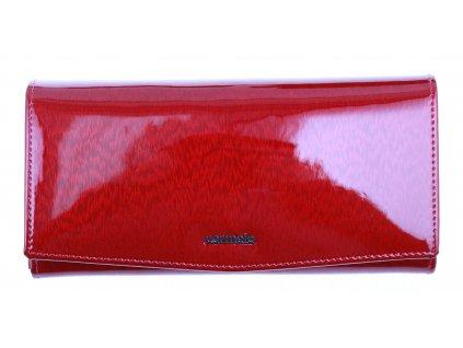 Velká dámská kožená peněženka Carmelo 2109H Red
