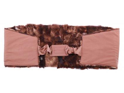 Ledvinový pás kožešinový z ovčiny LP 164 velikost  140 - 160 cm