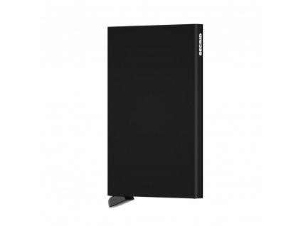 SECRID Cardprotector Black - černé pouzdro na platební karty s RFID ochranou