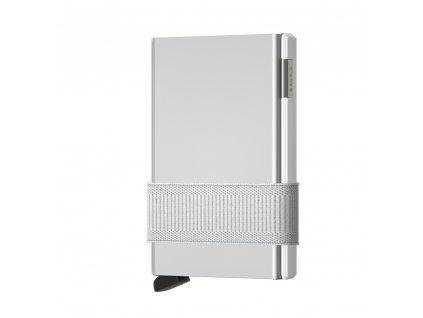 SECRID Cardslide White bílá kovová peněženka