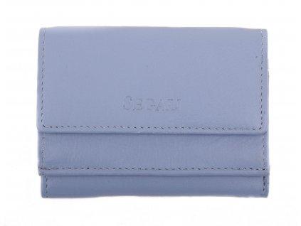 Malinká dámská kožená peněženka Segali SG1756 MINI modrá