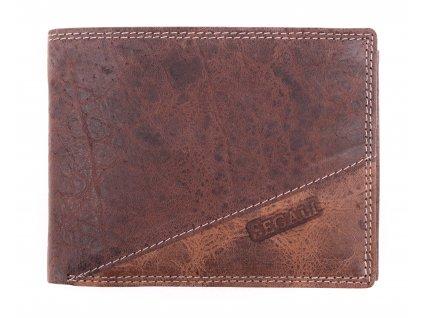 peněženka SegaliSG 1606 hnědá