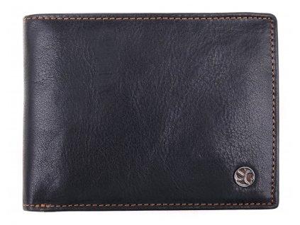 Pánská kožená peněženka Segali 907.114.2007 černá + koňak