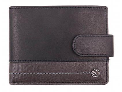 Pánská kožená peněženka Segali 951.320.005L černá