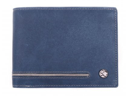 Pánská kožená peněženka Segali 730.115.2007 modrá