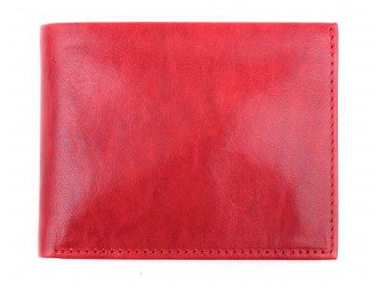 Pánská kožená peněženka Hajn 587451.5 červená