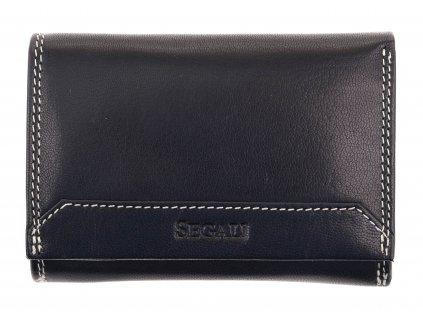 Dámská kožená peněženka Segali SG 7023Z černá