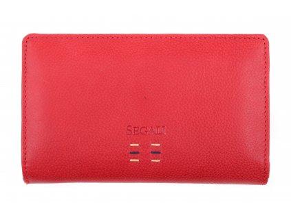 Dámská kožená peněženka Segali SG 7051ST Red