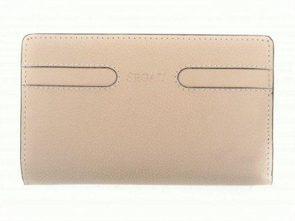 Dámská kožená peněženka Segali SG 7051E béžová