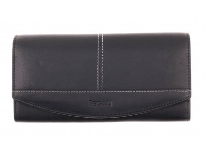 Dámská kožená peněženka Segali SG - 7056 černá