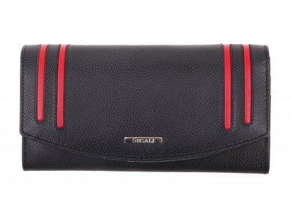 Dámská kožená peněženka Segali SG - 7063 černá