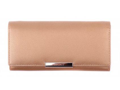 Dámská kožená peněženka Segali SG - 7066 Gold
