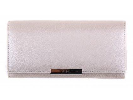 Dámská kožená peněženka Segali SG - 7066 Silver