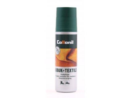 Collonil Nubuk+Textil emulze pro obnovu barvy kůže a textilu šedá 100 ml