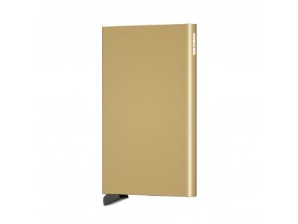 Kovové pouzdro na platební karty Cardprotector SECRID Gold zlaté